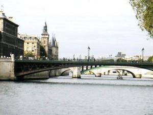 Сена и мост Луи-Филиппа